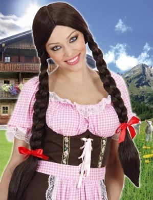 Gretel Bavarian Wig (3 colours)